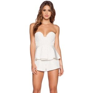 NWT Finders Keepers Bustier Playsuit - XS